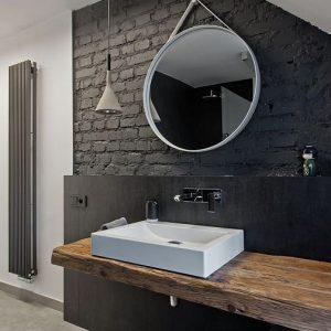 Ванная комната в стиле Лофт в Минске